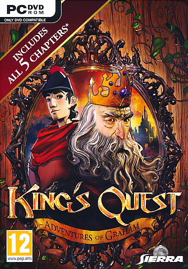 "Packshot for ""Kings Quest Adventures of Graham PC"""