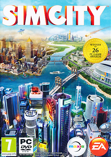 "Packshot for ""Sim City 5 PC"""