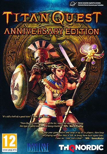 "Packshot for ""Titan Quest Anniversary PC"""