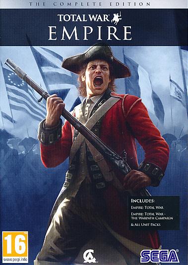 "Packshot for ""Empire Total War Complete Ed. PC"""
