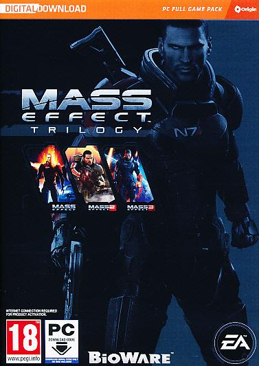 "Packshot for ""Mass Effect Trilogy (CIAB) PC"""
