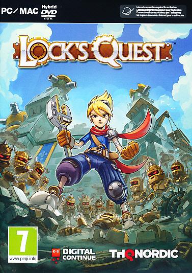 """Packshot for """"Locks Quest PC"""""""