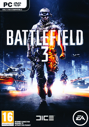 """Packshot for """"Battlefield 3 PC"""""""