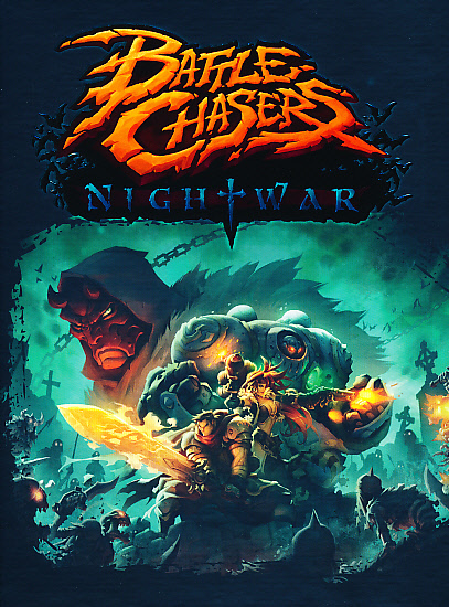 "Packshot for ""Battle Chasers Nightwar PC"""