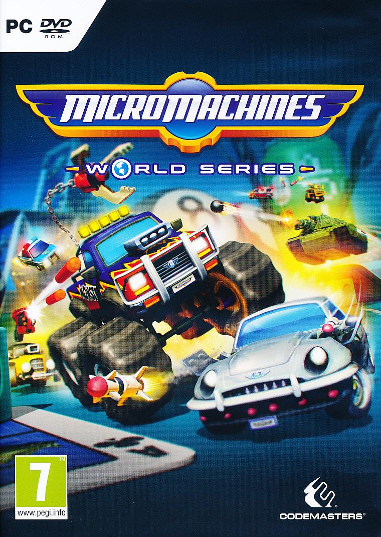"""Packshot for """"Micro Machines World Series PC"""""""