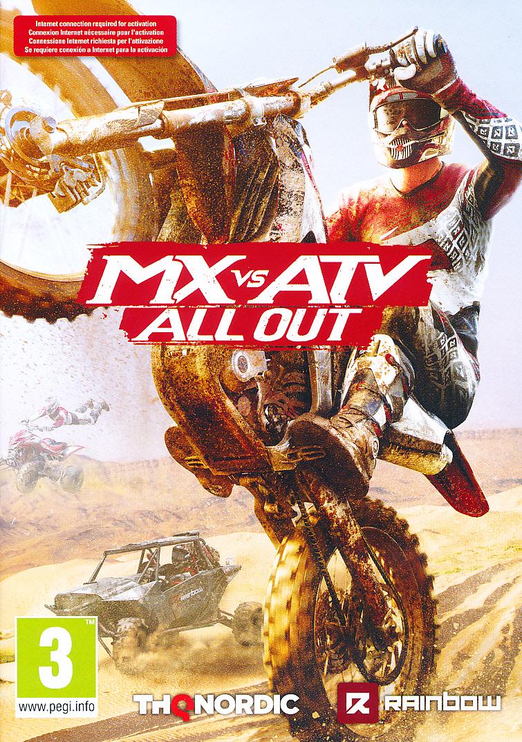 """Packshot for """"MX vs ATV All Out PC"""""""