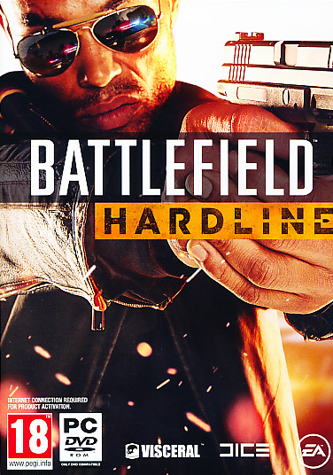 "Packshot for ""Battlefield Hardline PC"""