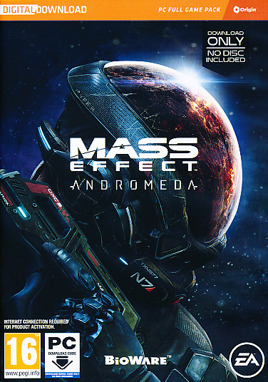 "Packshot for ""Mass Effect Andromeda (CIAB)NORD PC"""