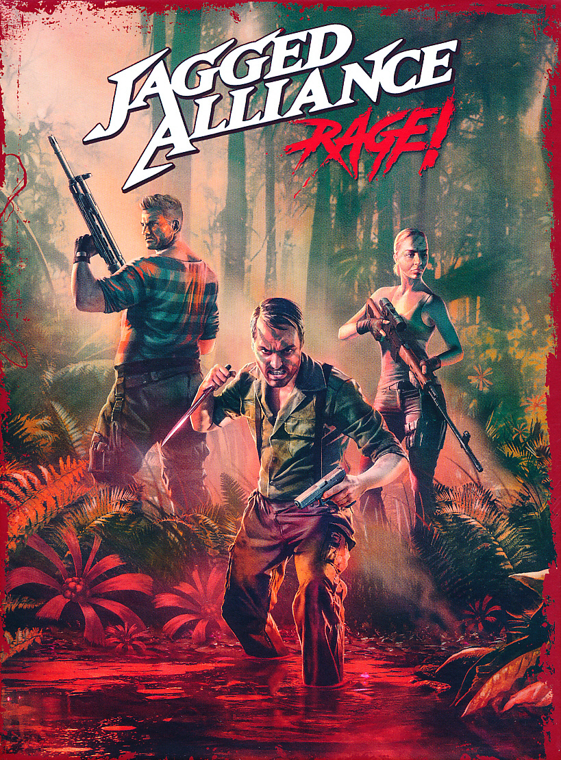 "Packshot for ""Jagged Alliance Rage PC"""