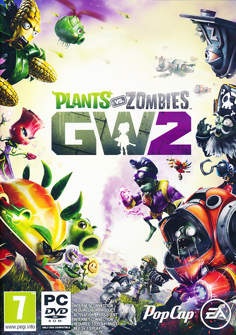 "Packshot for ""Plants vs Zombies GW 2 PC"""