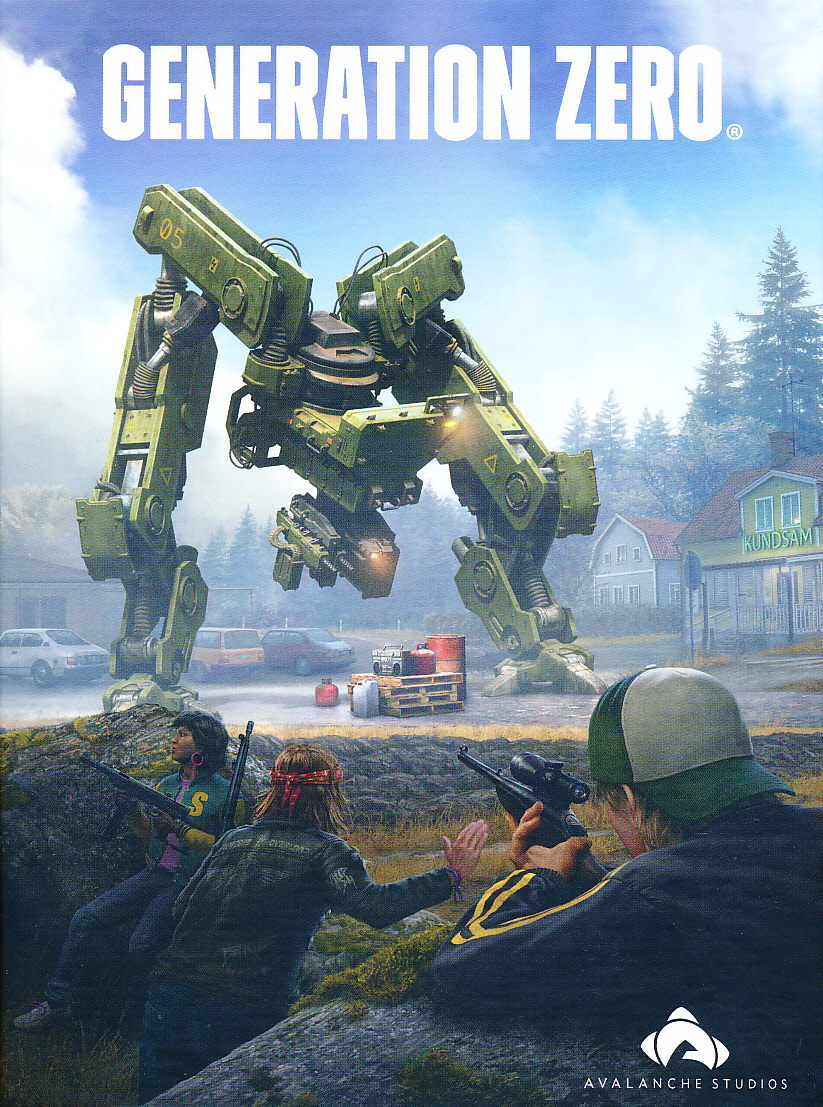 "Packshot for ""Generation Zero PC"""