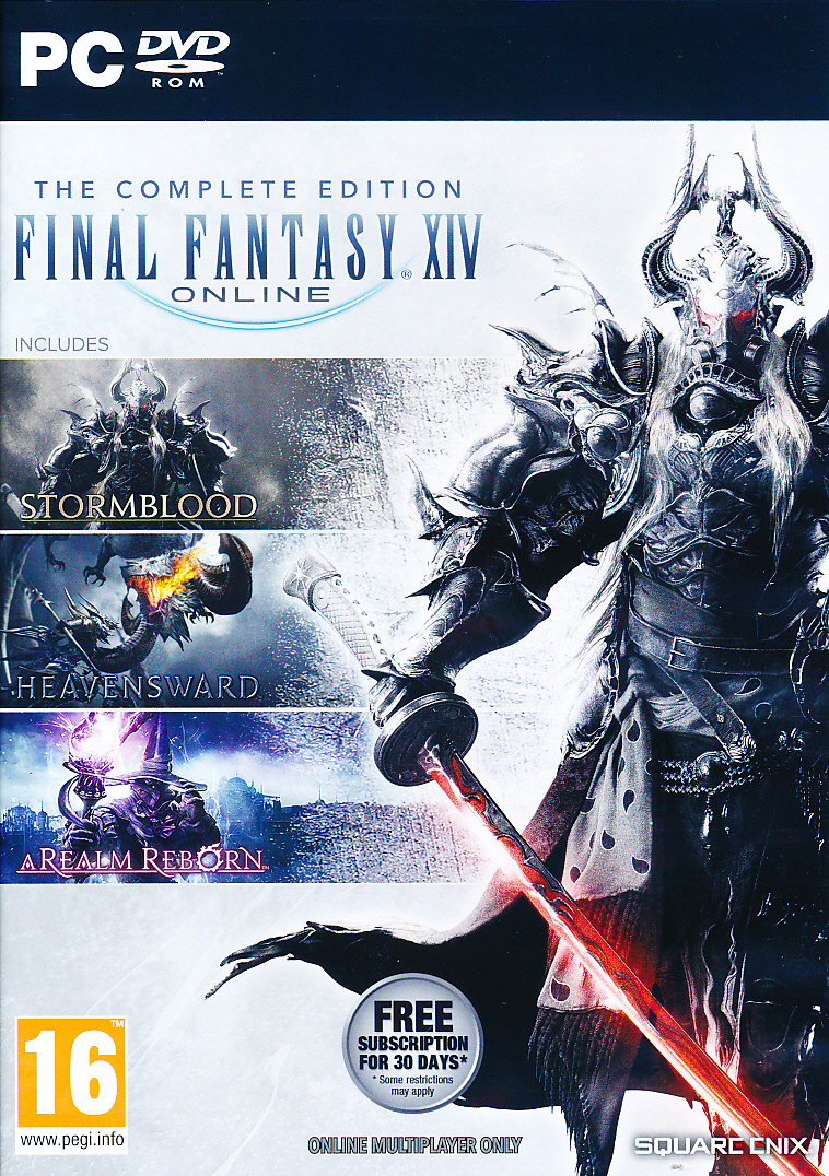 "Packshot for ""Final Fantasy XIV Online CompletePC"""
