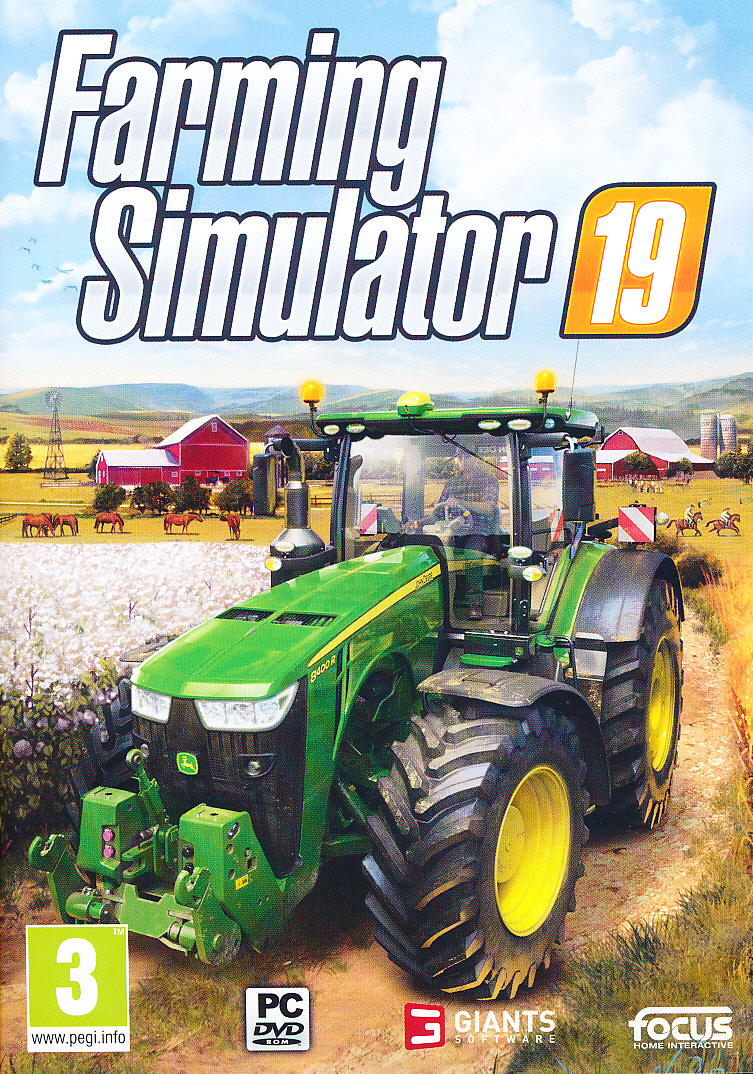 "Packshot for ""Farming Simulator 19 PC"""