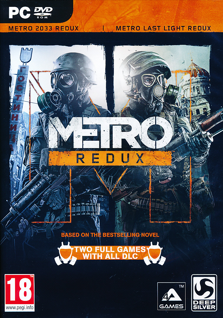 "Packshot for ""Metro Redux PC"""