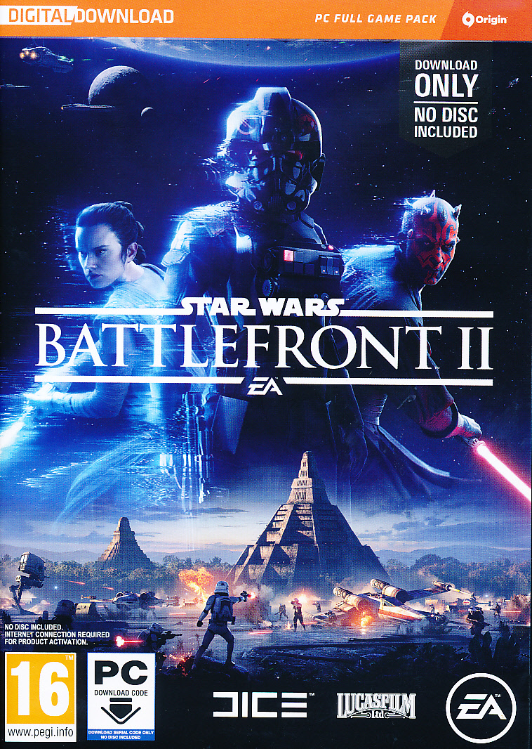 "Packshot for ""Star Wars Battlefront 2 (CIAB) PC"""