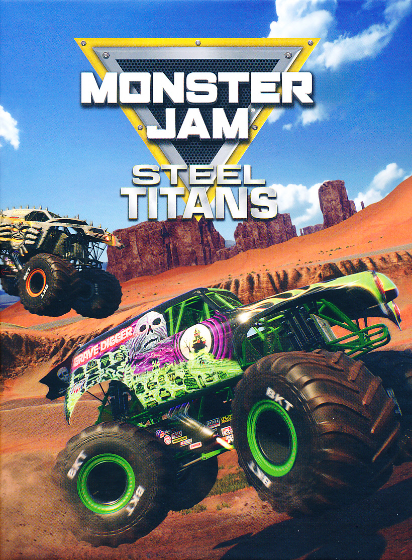 "Packshot for ""Monster Jam Steel Titans PC"""