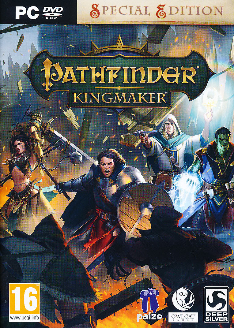 "Packshot for ""Pathfinder Kingmaker PC"""