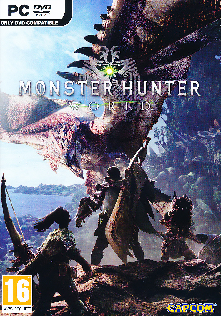 "Packshot for ""Monster Hunter World PC"""