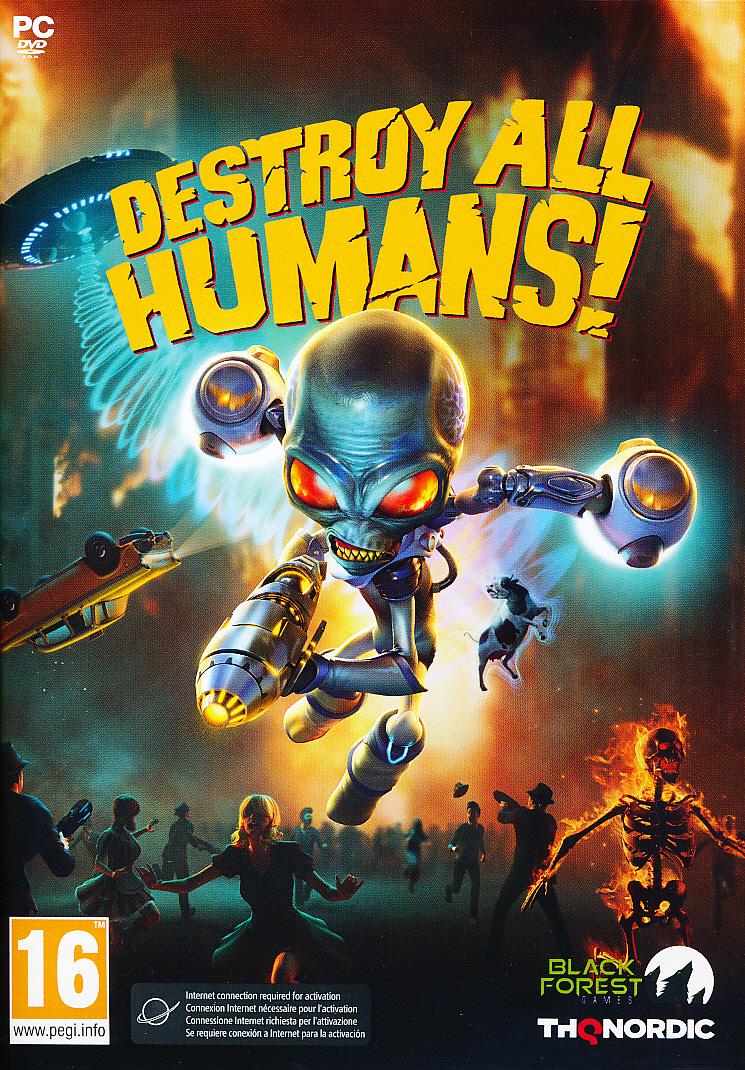 """Packshot for """"Destroy All Humans PC"""""""