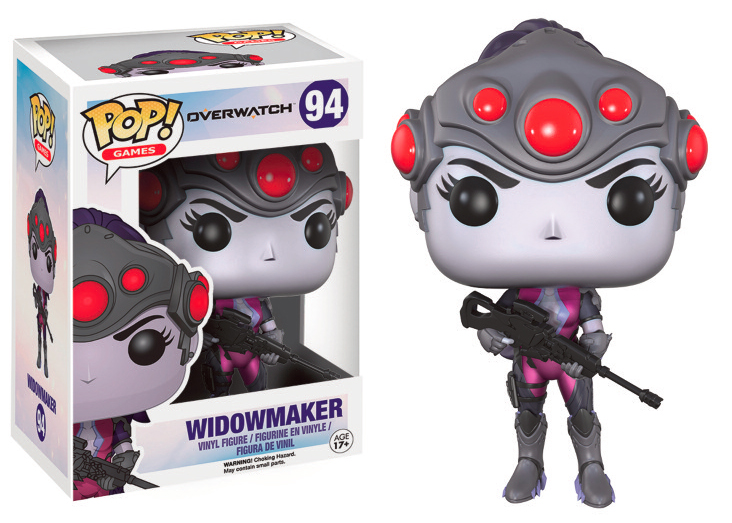 "Packshot for ""POP Overwatch Widowmaker"""