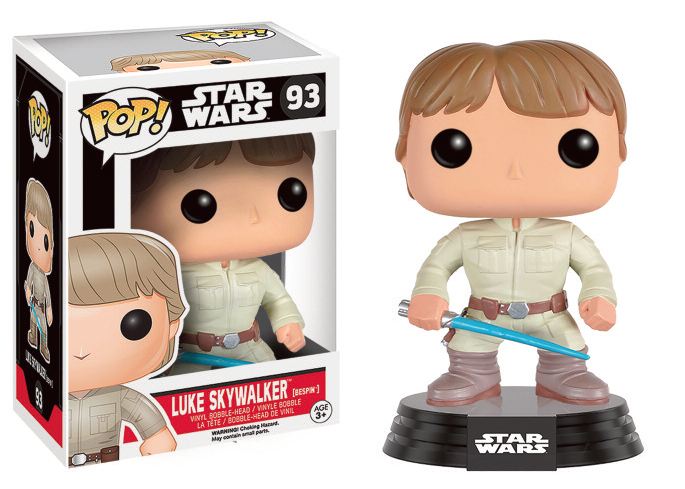 "Packshot for ""POP Star Wars Bespin Luke Skywalker"""