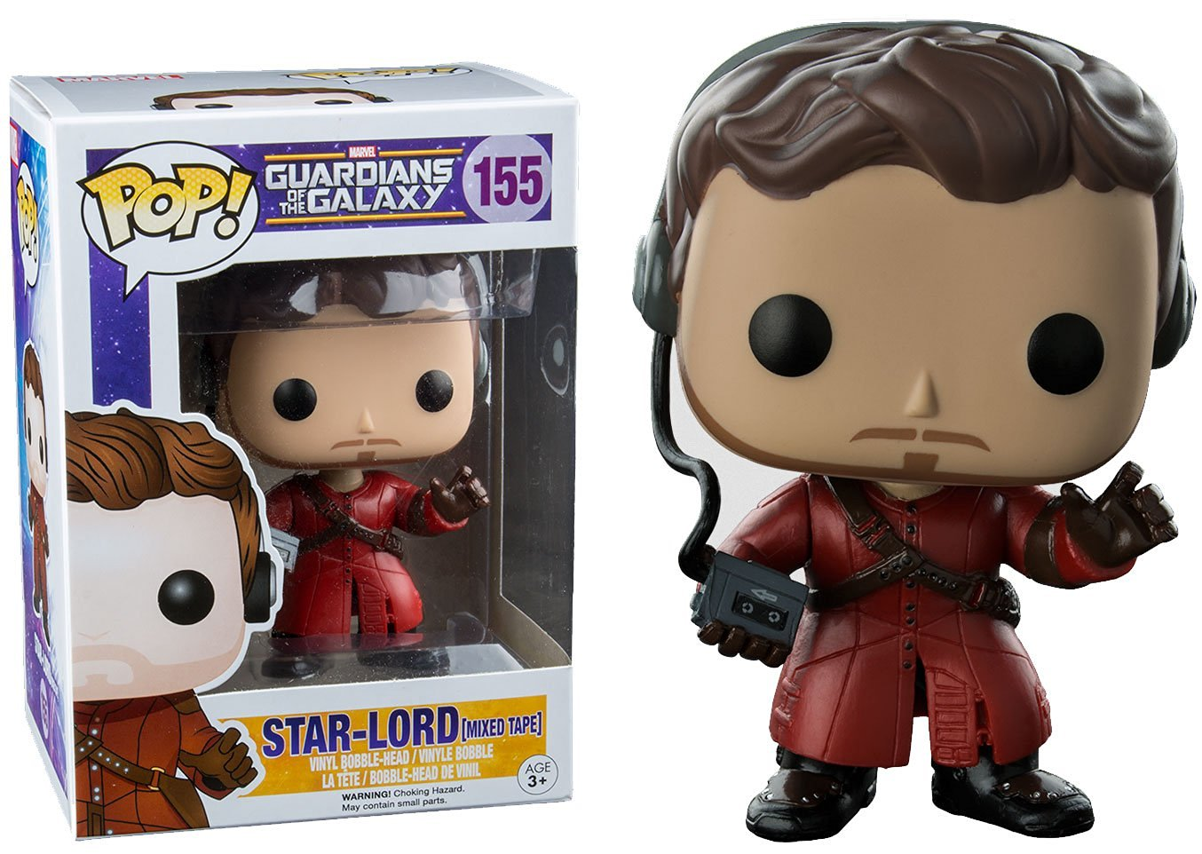 "Packshot for ""POP Marvel GOTG Star Lord Mix Tape"""