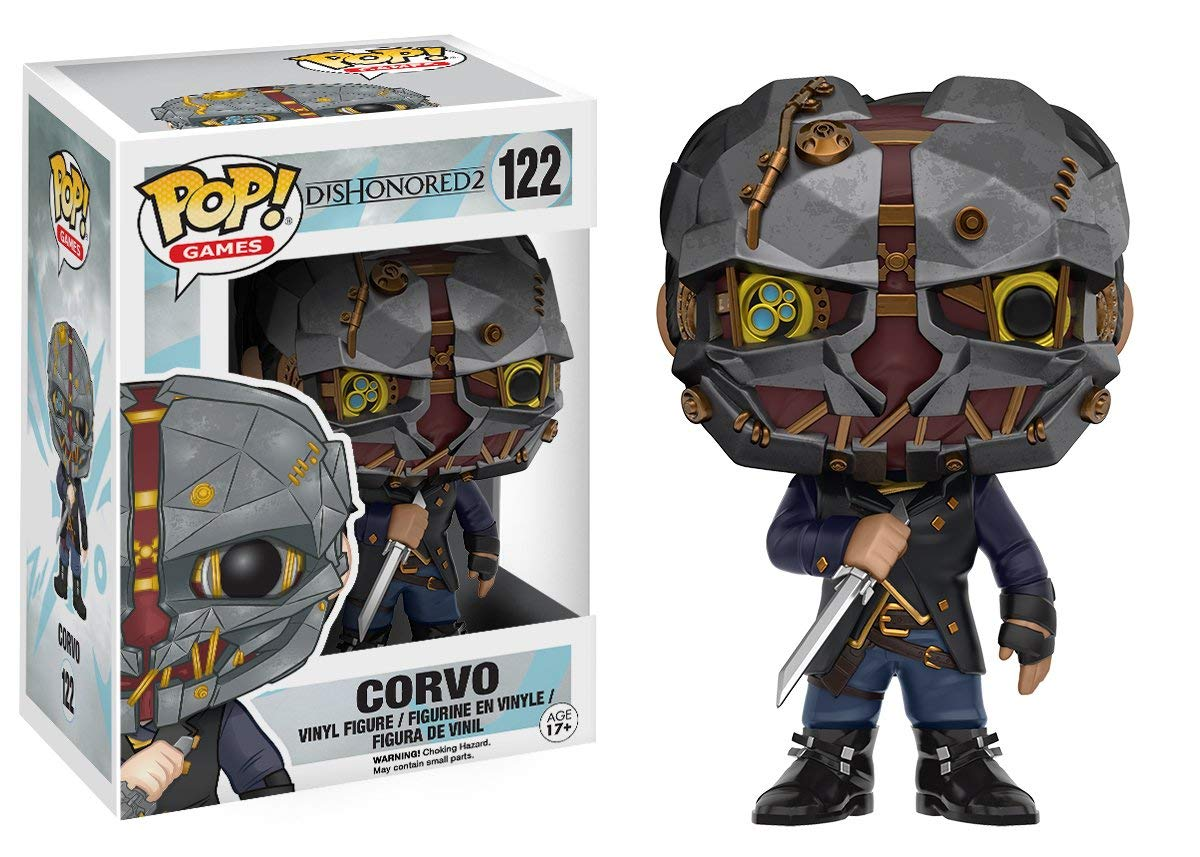 "Packshot for ""POP Dishonored 2 Corvo"""