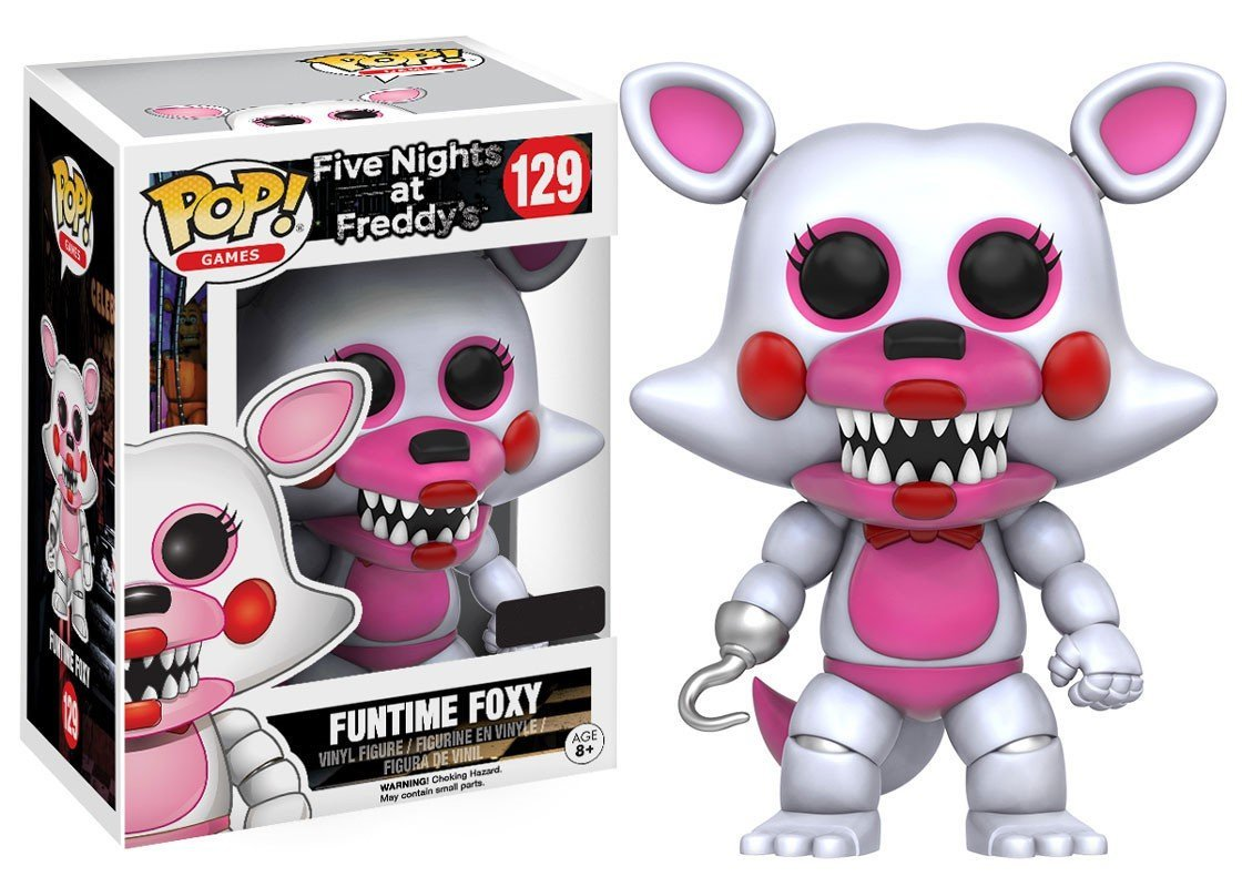 "Packshot for ""POP FNAF Funtime Foxy Excl."""