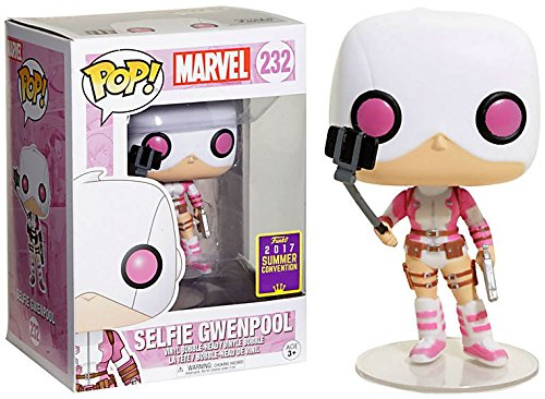 "Packshot for ""POP Marvel Gwenpool Selfie"""