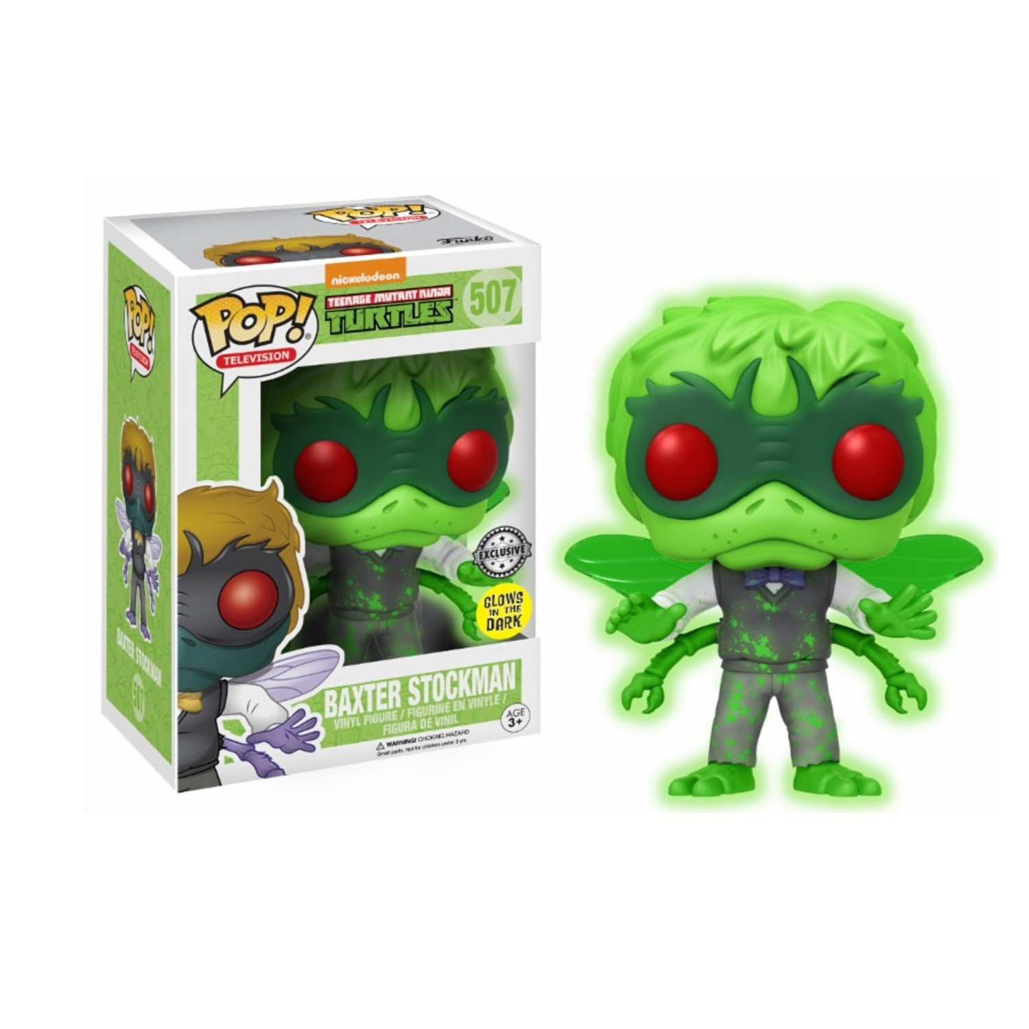"Packshot for ""POP TMNT Baxter Stockman GITD Excl."""