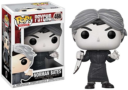 "Packshot for ""POP Psycho Norman Bates B&W"""