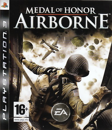 "Packshot for ""MoH Airborne PS3"""