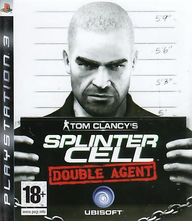 """Packshot for """"Splinter Cell Double Agent PS3"""""""