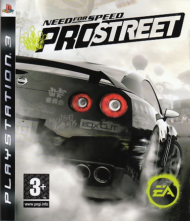 "Packshot for ""NFS Prostreet PS3"""