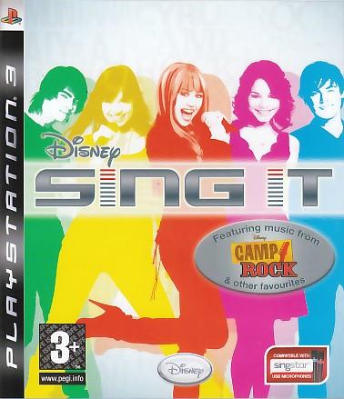 "Packshot for ""Disney Sing it Camp Rock PS3"""