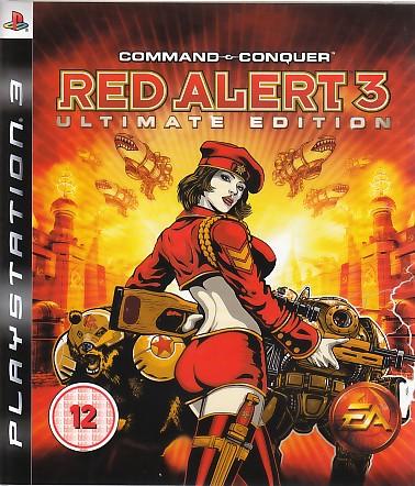 "Packshot for ""C&C Red Alert Ultimate Ed. BBFC PS3"""