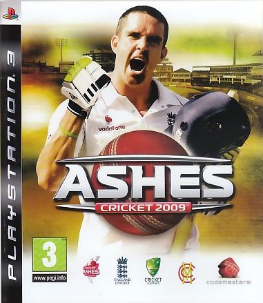 """Packshot for """"Ashes Cricket 2009 PS3"""""""