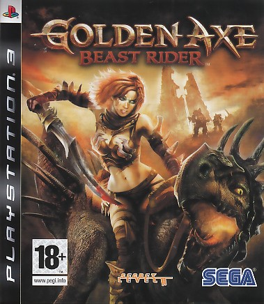 "Packshot for ""Golden Axe Beast Rider PS3"""