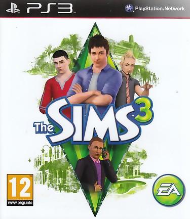"Packshot for ""Sims 3 PS3"""