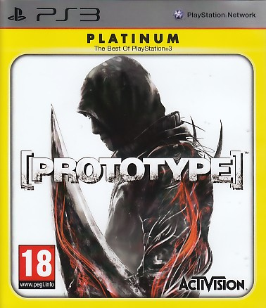 "Packshot for ""Prototype PLAT PS3"""