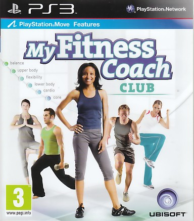 """Packshot for """"My Fitness Coach Club PS3"""""""