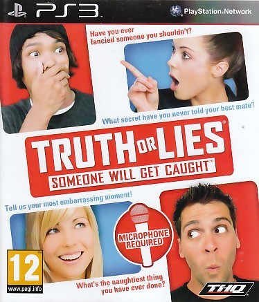 "Packshot for ""Truth or Lies PS3"""