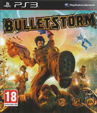 "Packshot for ""Bulletstorm NORD PS3"""