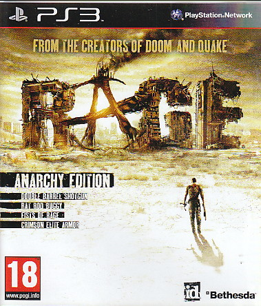 "Packshot for ""Rage Anarchy Edition PS3"""