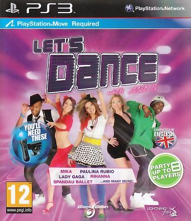"Packshot for ""Lets Dance With Mel B Move Ed. PS3"""