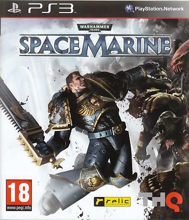 "Packshot for ""Warhammer 40K Space Marine PS3"""