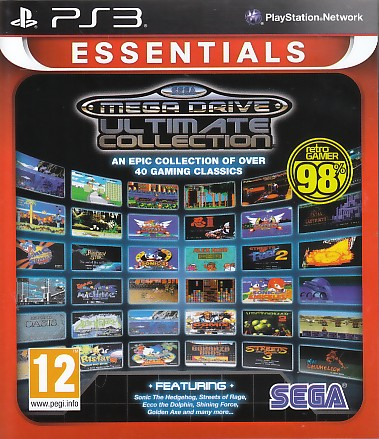 "Packshot for ""Sega Mega Drive Ulti.Coll. Ess. PS3"""