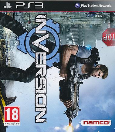 """Packshot for """"Inversion PS3"""""""