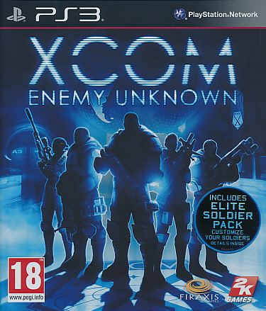 "Packshot for ""XCOM Enemy Unknown PS3"""