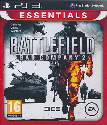 "Packshot for ""Battlefield Bad Company 2 Ess. PS3"""